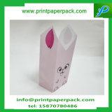 Sac doux fait sur commande de dessin animé de sac de sucrerie de cadeau de papier d'emballage de faveur d'usager