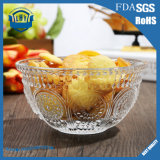 工場直接クリスタルグラスのダイヤモンドのフルーツサラダのガラス・ボール