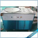 Macchina del gelato del rullo della vaschetta di alta qualità del Ce singola con 8 guarnizioni