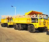 Caminhão de descarga rígido com capacidade de carregamento de 90 toneladas