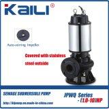 6 '汚れた水(JYWQシリーズ)のためのJYWQの自動感動的な下水の浸水許容ポンプ