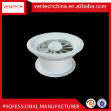 Diffusore rotondo di turbinio del soffitto registrabile delle lamierine di ventilazione