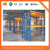Escala de trabalho pesado Armazém de armazenamento seletivo Prateleira de estante de paletes de aço