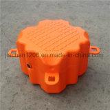 Cubo de plástico naranja con alta calidad en el mercado Popular en el Dique Flotante