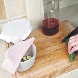 Diseño creativo mayorista de utensilios de cocina ecológica cubierta de conservante de silicona de grado alimentario