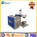 Fabbricazione portatile della macchina per incidere della marcatura del laser della fibra per acciaio inossidabile