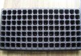 Potenciômetro de flor de Balck picosegundo de 105 pilhas para a bandeja da semente dos QUADRIS do preto do jardim