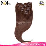 # 613 color sedoso Clip rubio recto en extensiones del pelo humano