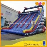 Jeu d'extérieur pour adultes gonflable à trois voies à la main pour sauter la montée gonflable (AQ01669)