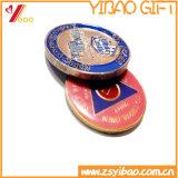 金属メダル、円形浮彫りの硬貨(YB-MD-45)を植える金/Sliver/銅のカスタムロゴ3Dのエポキシの柔らかいエナメルの硬貨/メダル