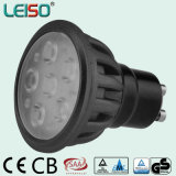 500lm 6W GU10 LED Spotlight avec l'approbation TUV ASA