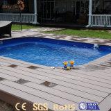 Im Freien guter Preis-hölzerne zusammengesetzte Swimmingpool-Plastikplattform