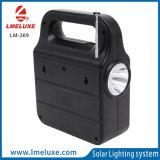 Het Systeem van de Verlichting van het huis met Kleine 3W Zonne LEIDENE Lampen voor Verlichting