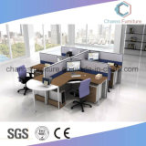 現代家具のコンピュータ表のオフィスのキュービクルワークステーション