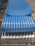 Плитки крыши металла цвета сделанные в Китае/гальванизированном трапецоидальном листе толя