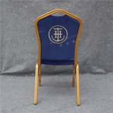 Cadeira Stackable usada hotel do metal do banquete da boa qualidade para a venda Yc-Zl06-01