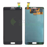 Экран касания LCD мобильного телефона на примечание 4 галактики Samsung