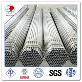 ASTM 53/A53m 급료 Dn 25 Std에 의하여 직류 전기를 통하는 보통 끝 아연에 의하여 입히는 용접된 강관