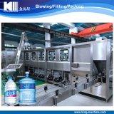 Zhangjiagang-Fabrik-automatischer Zylinder-Glas-Eimer 5 Gallonen-Wannen-Wasser-Füllmaschine