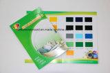 Carte de couleur imprimée sur papier personnalisée pour la publicité
