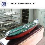 Modello di scala miniatura della nave dell'elemento portante di LNG