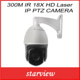 300m IRL 18X HD IP PTZ van de Laser Camera