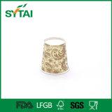 Taza de té desechable de papel de alta calidad de la alta calidad para la venta