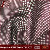 16mm 30 Silk 70 Peau Tissu de coton mélange coton imprimé tissu de soie