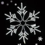 LEDのクリスマスの時間装飾ライト雪片ライト
