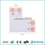 Clip del adaptador de la esquina del ángulo del color del conector del alambre de la tira del LED 5050 solo