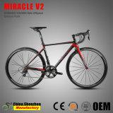 Bicicletta nascosta Superlight della strada di velocità della forcella 105groupset 22 del carbonio del freno