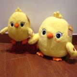 Заполненная таможней игрушка плюша цыпленока