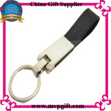Keychain di cuoio personalizzato per la misura dell'anello portachiavi