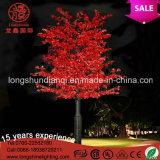 Palmen-Ahornholz-Baum-Licht des LED-Weihnachtsgelb-220V 12V LED für Hausgarten-Dekoration
