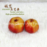 Red Artificial Granatapfel für Schöne Dekoration