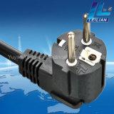 Korea-Typ Extensions-Netzkabel-Stecker mit 16A 250V