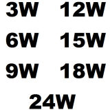 3-24W 정연한 중단된 LED 호리호리한 위원회 빛 (LED-PANEL-002)