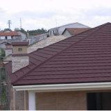 Steinmetallfliese-wasserdichtes Steinfliese-Landhaus-Farben-Dach-Metall färben