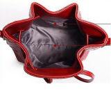 Sacchetto della benna della spalla del Drawstring di stampa dei sacchetti di cuoio di modo per le ragazze delle donne