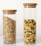 Frasco de vidro do atolamento do armazenamento do alimento para o alimento