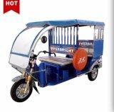 最も新しい電気3つの車輪の自動乗客の人力車