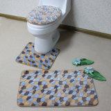 Eco-Friendly 산호 양털 화장실 부속품 매트 세트