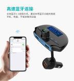 Il trasmettitore di Bluetooth FM per l'automobile, adattatore radiofonico senza fili con le mani libera le richieste per il caricatore rapido dell'automobile del USB della carica 3.0 di iPhone per Samsung