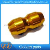 Va il collare del cavo di alluminio dell'oro di Kart