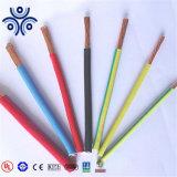 IEC Cable eléctrico de 1,5 mm2 de 2,5 mm2 4mm2 6mm2 de cobre o aluminio aislamiento de PVC 300/500V