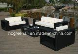 Mobilia sintetica esterna popolare moderna del patio del rattan