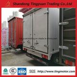 Mini camion della casella di Sinotruk HOWO con una capienza di 5 tonnellate