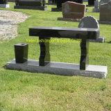 묘지 옥외 정원을%s 대중적인 디자인 화강암 벤치