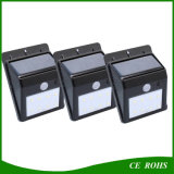 IP65 LED Solar Yard Wall Lights Capteur de son Spot Light