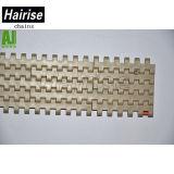 Hairise 2120 POM Cuadrícula alimentos Modular plástico cinta transportadora